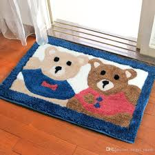 flocking non slip mat indoor outdoor doormat large small inside outside front door mat rechangle carpet floor rug 20 31 18 26 14 style