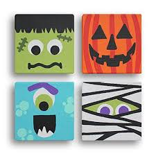 Image result for kids halloween painting