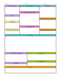 unit planner template for teachers 32 best unit plan lesson plan templates images on pinterest