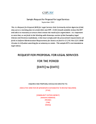 Request for Proposal Sample 04 - Edit, Fill, Sign Online | Handypdf
