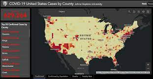Johns Hopkins coronavirus map adds local data