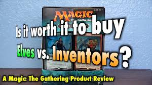 mtg is it worth it to elves vs inventors the final magic the gathering duel deck