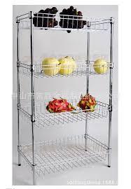 Kitchen Storage Racks Metal Aliexpresscom Buy Home Kitchen Storage Rack Four Stainless