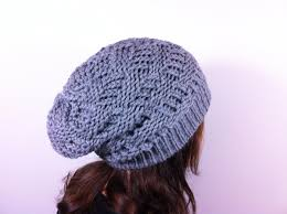 Loom Hat Patterns Inspiration How To Loom Knit A Basket Weave Slouchy Beanie Hat DIY Tutorial
