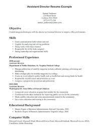 Sample Resume Skills List Management Resume Examples Retail