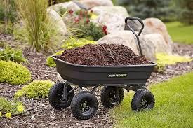 top 6 garden carts and wheelbarrows for