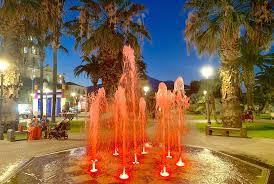 Fontana Tree Lighting Fontana A Raso Pavimento Fontane Gentile Giochi Dacqua