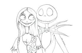 Coloring Jack Skellington Pages Printables Chronicles Network