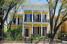 New Orleans Louisiana Garden District Homes A Southerly Flow
