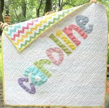 Personalized Name Quilt, Appliqued Quilt, Monogrammed Baby Quilt ... & Personalized Name Quilt, Appliqued Quilt, Monogrammed Baby Quilt, Custom  Made on Etsy, Adamdwight.com