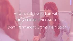 Ion Color Brilliance Demi Permanent Hair Color
