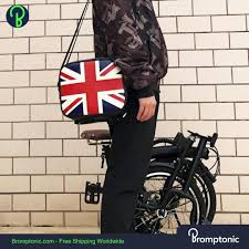 Brompton bag for the front block – Bromptonic
