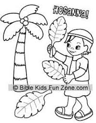 Palm Sunday Coloring Page At Getdrawingscom Free For Personal Use