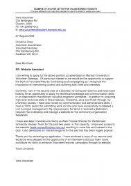 Cover Letter Format Monash Fishingstudio Com
