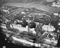 the nuremberg trials aerial view of the nuremberg palace of justice where the international military tribunal tried 22 leading german officials for war crimes
