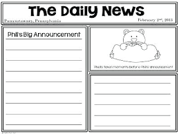 Template For Newspaper Report Nosugarcoating Info