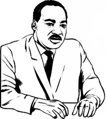 Martin Luther King Jr Coloring Pages to Motivate in coloring page ...