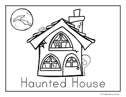 Small Picture Halloween Coloring Pages Simple Fun for Kids
