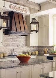 rustic brick backsplash and luxury granite countertop for countertops idea 44