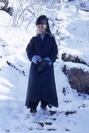 aung san suu kyi on the snowy slopes of a mountain in in aung san suu kyi on the snowy slopes of a mountain in in 1971