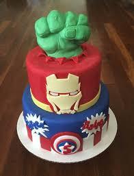 Avengers Fondant Birthday Cake Cakecentral Com 9001205 Attachment