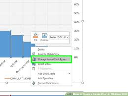 Making Pareto Chart Excel 2010 How To Create A Pareto Chart In Ms Excel 2010 14 Steps
