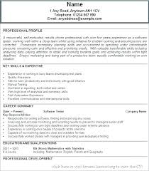 Tester Resume Samples Software Tester Resume Sample Of For Experienced T Ooxxoo Co