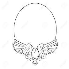 vintage frame tattoo designs. Drawn Mirror Round Frame #7 Vintage Tattoo Designs