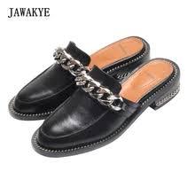 Buy genuine <b>leather</b> slipper <b>women</b> and get free shipping on ...