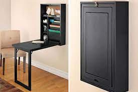 21 space saving wall mounted desks to
