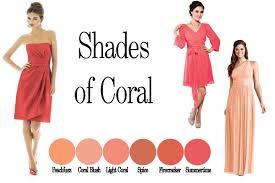 Coral Short Bridesmaid Dresses