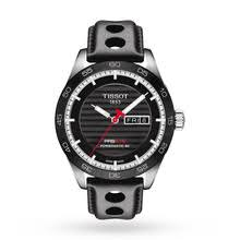 tissot watches designer luxury swiss watches goldsmiths mens tissot prs516 powermatic 80 automatic watch t1004301605100