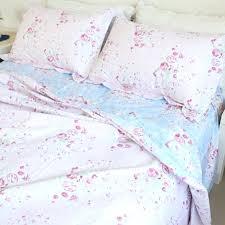 rose bedding pink blue rose reversible cotton duvet cover set rose gold bedding sets rose bedding and curtains