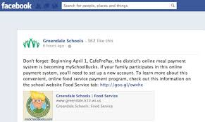 online meal calendar greendales new school lunch payment system new school