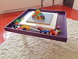 lego table with tray