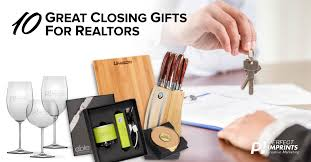 10 great closing gifts for realtors