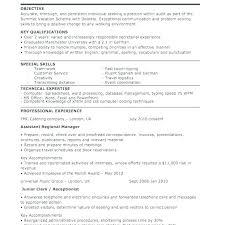 Curriculum Vitae Example Wonderful Canada Standard Resume Format Template Curriculum Vitae Letter