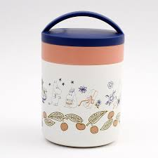 super lightweight pact thermal insulation cold storage delica pot thermal insulation cold storage delica pot mumin stylish woman soup pot soup jar