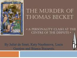 t s eliot s murder in the cathedral historical background ppt the murder of thomas becket