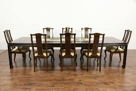 drexel herie connoisseur chinese motif vine dining set table