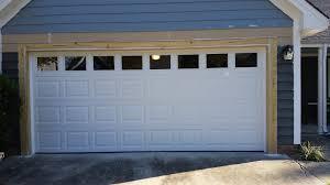 garage door framingSouth Charlotte Residential Garage Door Framing Repair Installation