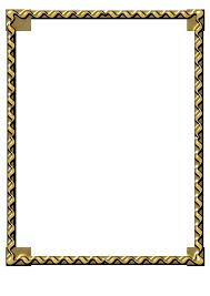 gold frame border png. 660x934 Black And Gold Border Clipart Frame Png