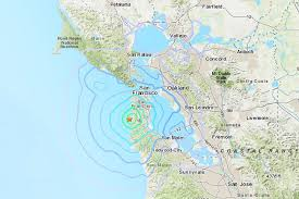 The maps also contribute to the california geological survey's. Earthquake In Bay Area Shakes San Francisco The New York Times