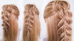 Прически на выпускной на длинные волосы. Pricheska Dlya Devochek Na 1 Sentyabrya Vypusknoj Poshagovo Dlinnye Volosy Little Girl S Hairstyle Youtube