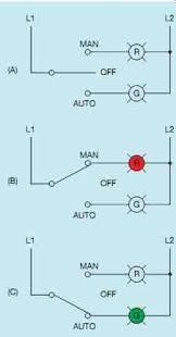 industrial motor control symbols and schematic diagrams Hand Off Auto Switch Wiring Diagram 31 a man off auto switch is a single pole, double throw switch with a center off position hand off auto selector switch wiring diagram