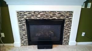 fireplace backsplash tile coolest tile around fireplace remodel with  coolest tile around fireplace remodel with tile