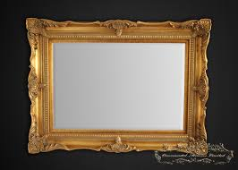 design by rasch classic ornate gold mirror