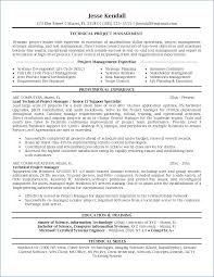 Project Management Resume Best Sample Project Manager Resume Unique Project Management Resume
