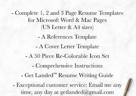 Resume Creative Resume Template The Sophia Wonderful Writing A