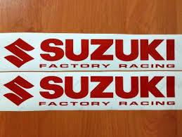 suzuki factory racing logo premium cast